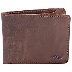 Spykar Mens Leather Brown Wallets