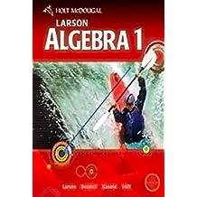 Algebra 1 Chapter Audio Summaries CD (Mcdougal Littell High School Math)
