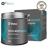 O³ Totes Meer Maske // Schlamm Gesichtsmaske gegen Mitesser und zum Poren verfeinern // Blackhead remover mask // Dead Sea Mud