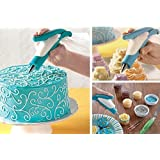 PETRICE E-z Deco Icing Pen Cookie Cake Pastry Decorating Set Frosting Icing Piping Bag Tips With Nozzles