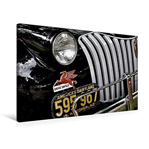 Calvendo Premium Textil-Leinwand 75 cm x 50 cm quer, Chevrolet Advance Design   Wandbild, Bild auf Keilrahmen, Fertigbild auf echter Leinwand, Leinwanddruck Mobilitaet Mobilitaet