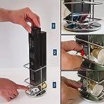 Percilun-Porta-Capsule-Caff-Nespresso-per-40-Capsule-Nespresso-Porta-Cialde-Nespresso-Base-Antiscivolo-Girevole-Portacapsule-Nespresso