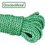 GardenMate® Polypropylène (PP) Corde Utilitaire vert 30m 4 torons toronné