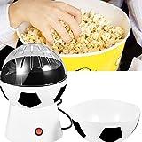 1200W Kreative Fußball Elektrisch Heißluft Popcorn Maker Popper Maschine 220V,SoccerPop Popcornmaschine, Fußball-Design 27 x 17 cm