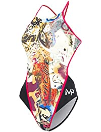 MP Michael Phelps Womens Charmcity Swimsuit 38