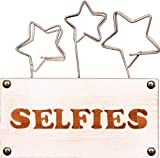 empireposter - Collage Fotohalter - Selfies Fotohalter - Größe (cm), ca. 15,5x16 - kleine-Rahmen, NEU - Beschreibung: - Fotohalter aus Holz, 15,5x7,5x3,5 cm -