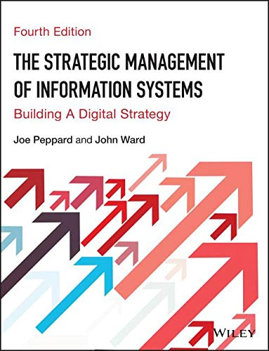 The Strategic Management of Information Systems: Building a Digital Strategy Digital Data Communications