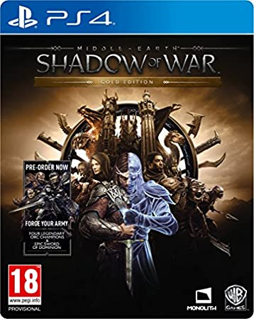 Middle-earth: Shadow of War Mithril Edition (Exclusive to Amazon.co.uk) (PS4)