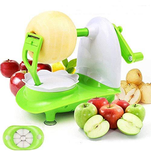 mciskin Peladores de Manzanas,Peladores y cortadores para la Fruta,Cortador de Manzanas y Pelador