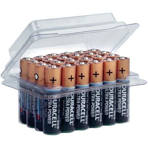 24 Piles Duracell MX2400 Ultra Power AAA/Micro, Lot de 4
