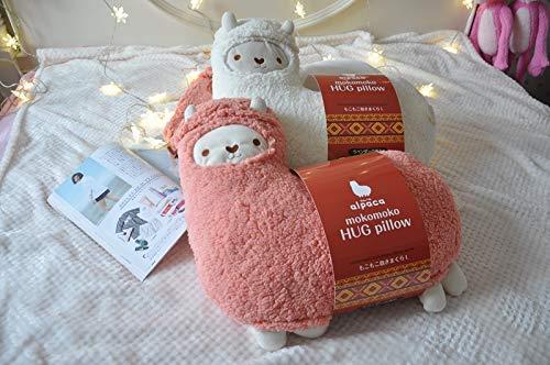 lzpoyaya Weiche Aromatherapie Alpaka Plüschtier, schöne Kuscheltier Alpaka Aromatherapie Kissen, für Kinder Geburtstagsgeschenk 2 Stück 47X47Cm -