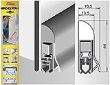 Athmer Wind-Ex RTK-1 Türabdichtung 1110 mm dunkelbronze eloxiert für Außentüren