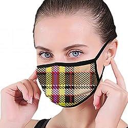 Karierten Karierten Illustrationen Clip Art Maske halbes Gesicht Mund-Muffel Mode Motorrad Anti Staub Kostüm Mode Maske