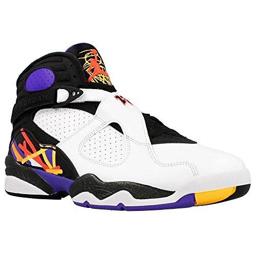 NIKE Air Jordan 8 Retro, Chaussures de Sport Homme