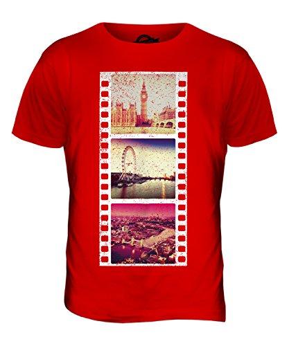 CandyMix London Fotografischer Film Herren T Shirt Rot
