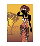 Fine Arts Digitally Printed Premium Canvas Painting Without Frame - Size 20 x 30 inch
