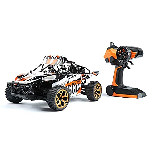 GizmoVine RC Car 1:18 Scale 4WD High Speed RC Racing Buggy 2.4Ghz Remote Controller Rechargeable Electric Vehicle for Kids