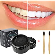 Natural Teeth Whitening Activated Coconut Charcoal Powder,safe tooth whitener for sensitive teeth gums,Food Grade, Higher Efficiency than Charcoal Toothpaste, Teeth Whitening Strips. (B1)