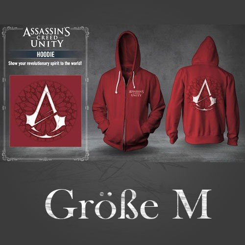 Assassin's Creed Unity Hoodie (Original by Ubisoft) Größe M