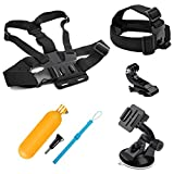 SHOOT Action Camera Accessories Kit for GoPro Hero 7 Hero (2018)6/5/4 GoPro Hero Session SJCAM SJ4000 SJ5000 SJ6000 AKASO EK7000 Apeman A70 APEMAN A80 Xiaomi Yi WiMiUS Sony Sports Camera