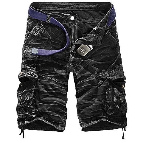 Salopette Short Homme - GITVIENAR Salopette Jeans Homme Oversize Grande Taille