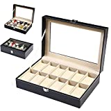 Best AXIS Jewelry Boxes - LLFFDC Watch Boxes 12 Watch Display Box Case Review