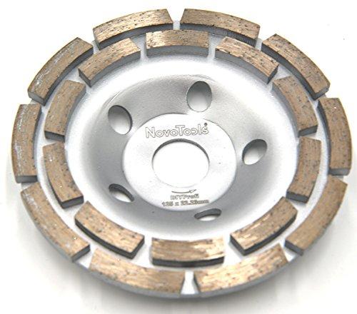 NOVOTOOLS Disque diamant à poncer 125mm 2 rangées DIY