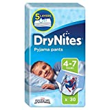 Huggies 4–7Jahre DryNites Pyjama Pants Spiderman 30pro Packung Test