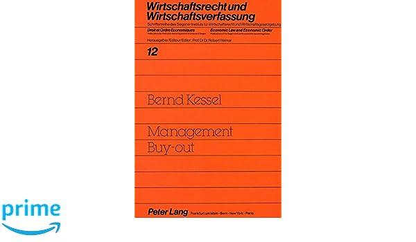 Management Buy-Out: Grundlagen Und Probleme: Amazon.co.uk: Bernd ...