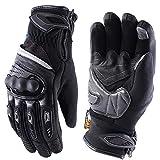 NUYAN NUYAN Protective glovesMotorrad Handschuhe wasserdichter Touchscreen Handschuhe Anti-Rutsch Outdoor Sport mit gepolstertem Rückenseite geeignet<br>