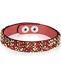 Rafaela Donata–Bracelet Femme–Acier inoxydable Plastique Verre Multicolore–60917025
