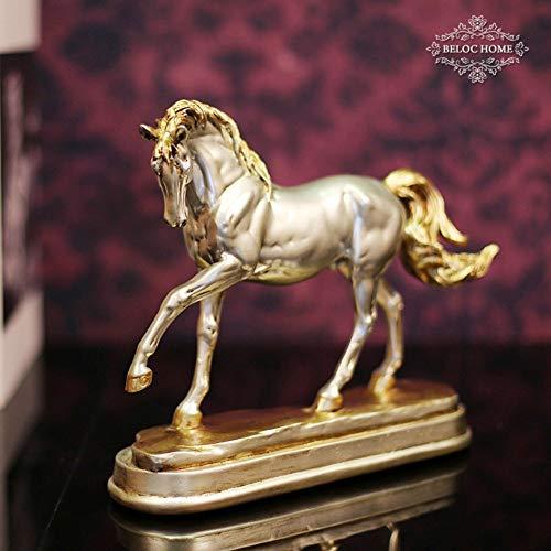 Winpavo Estatuas Escultura Resina Artesanía Decoración