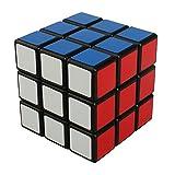 Aehma 3x3x3 Zauberwürfel schnell Drehwürfel mit festbedruckte Farbflächen für Konzentrations- und Kombinationsübungen - Rätsel-Würfel/Speed Cube/Magic-Cube