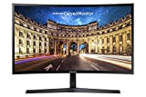 Samsung C24F396 Monitor Curvo, 24'' Full HD, HDMI/D-Sub, 60 Hz, 4 ms, Freesync, Nero