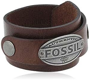 Fossil Jewelry Herren-Armband Leder braun JF00074797