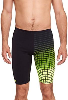 Zoggs Men's Darwin Jammer - Bañador para hombre, color negro-verde, 32