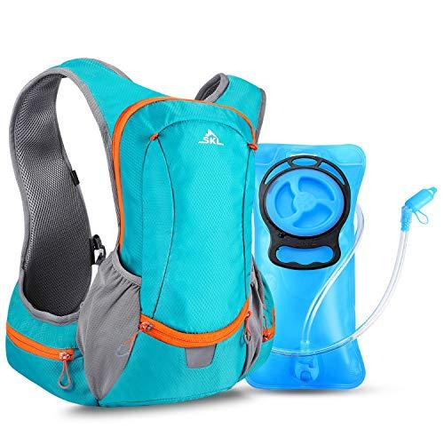 Hydration Rucksack Fahrradrucksack Trinkrucksack Wanderrucksack mit Trinksystem 2L Trinkblase Trinkbeutel BPA-frei für Wandern Klettern Radsport Camping Trekking Outdoor Sports Multifunktion