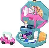 Polly Pocket Cofanetto Golf Club, con 2 Mini Bambole, un Veicolo e Accessori, Giocattolo per Bambini di 4+ Anni, GDK81