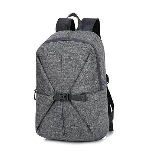 LF&F Backpack Hochwertiges Nylon 30L KapazitäT Freizeit Outdoor Sport Rucksack College Tasche Laptop Tasche Mehrzweck ReisegepäCk Tasche Daypacks D