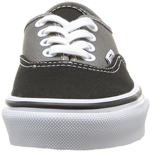 Vans K Authentic, Unisex - Erwachsene Sneaker - noir/charcoal (2 tone black/charcoal)