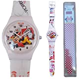 MONTRE ENFANT MINNIE DISNEY POLSO GIRL ANALOGIC - 35831BIANCO