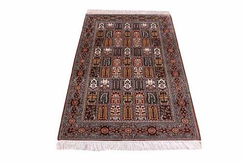 Classico annodati a mano tappeto orientale hereke esclusivoda cina 152 x 91 cm