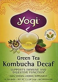 Yogi Green Tea Kombucha Decaf Tea