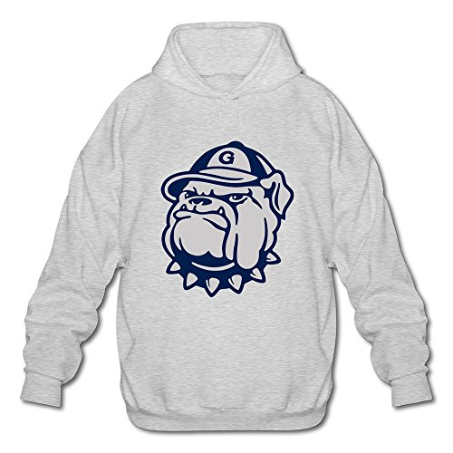 Herrens Emotion Casual NCAA Georgetown University Hoya Logo Long Sleeve T-shirt XXLarge (Hoya-t-shirt De La)