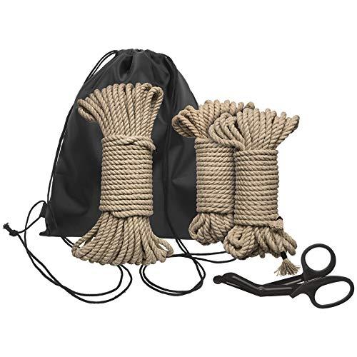 Doc Johnson - Kink - Binden und Fesseln Einleitung- Set - Braun