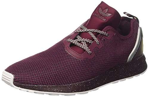 adidas ZX Flux ADV Asymmetrical Maroon Black Red