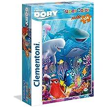 Clementoni 23986 - Puzzle SuperColor Maxi Finding Dory2, 104 Pezzi