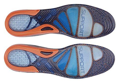 Sidas Cushioning Gel Halterung Sohle Unisex Blau / Orange