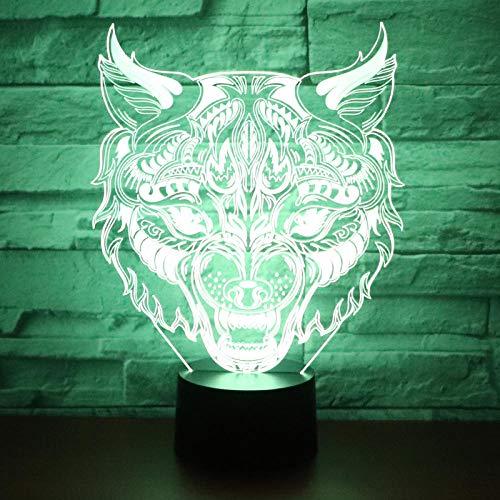 Huizheng3D Lampe, 3D Illusion Nachtlicht 3D Dekor Lampe 7 Farben Chang-Sea Turtle Tortoise -