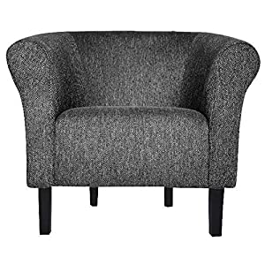 FORTISLINE Clubsessel Loungesessel Cocktailsessel Monaco 2″ Fashion Hellgrau W364 17